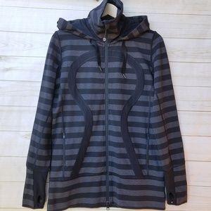 Lululemon 10 hooded Stride jacket